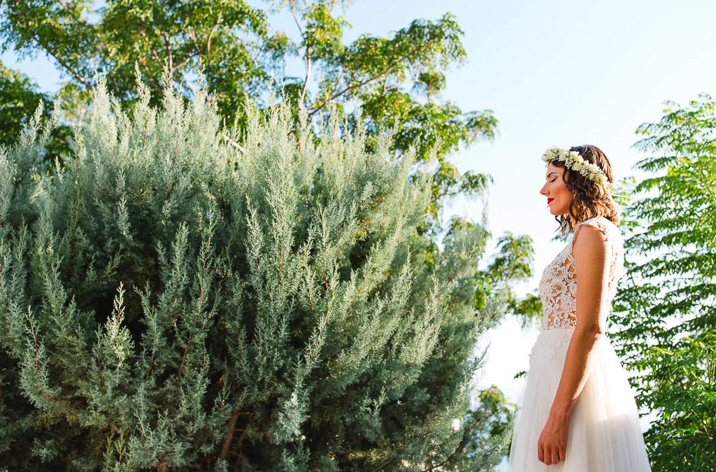 Joyful and Bright Summer Wedding